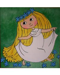 Obraz na plátně Víla Amálka