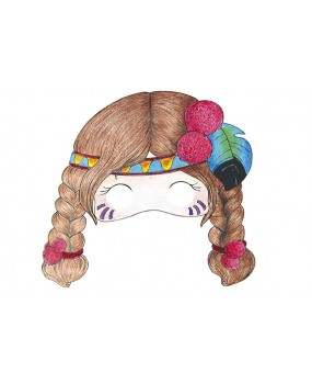 Karnevalové masky pro holky, Avenue Mandarine