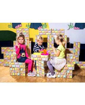 CIHLIČKY - veliká stavebnice pro děti