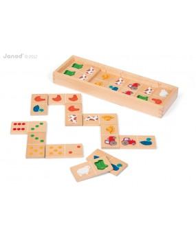 Dřevěné domino Zahrádka, Janod
