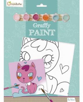 Malování na plátno Kočička, Avenue Mandarine